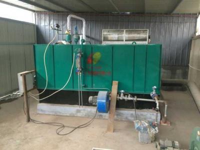 黑龙江铁力市苏禾食品厂1吨生物质蒸汽发生器